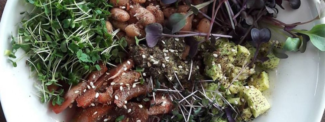 Siltie pupiņu salāti