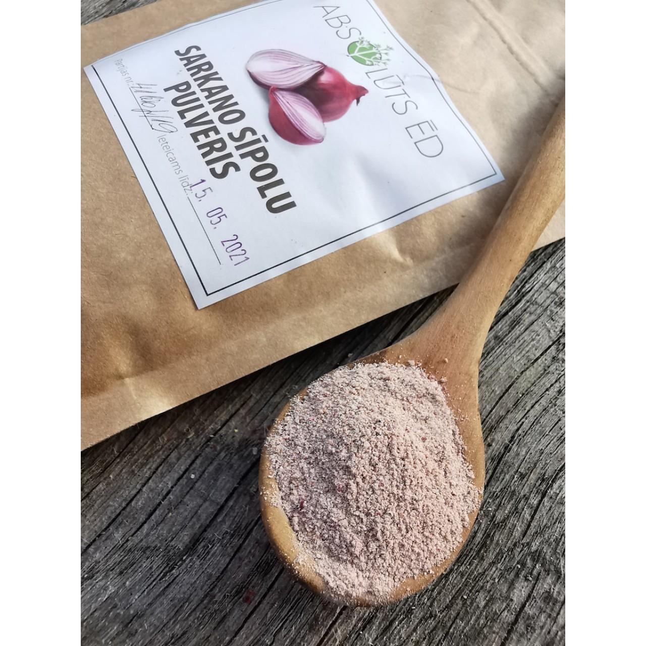 Sarkano sīpolu pulveris